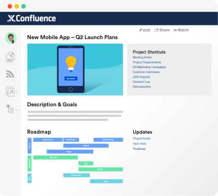 Confluence is content collaboration software that changes how modern teams work