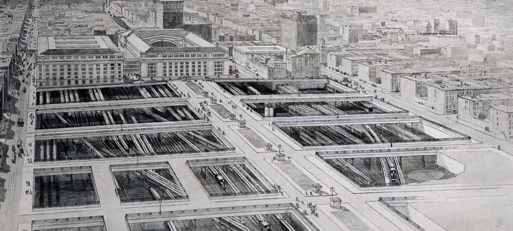 Terminal City - 1910 Artist's Conception