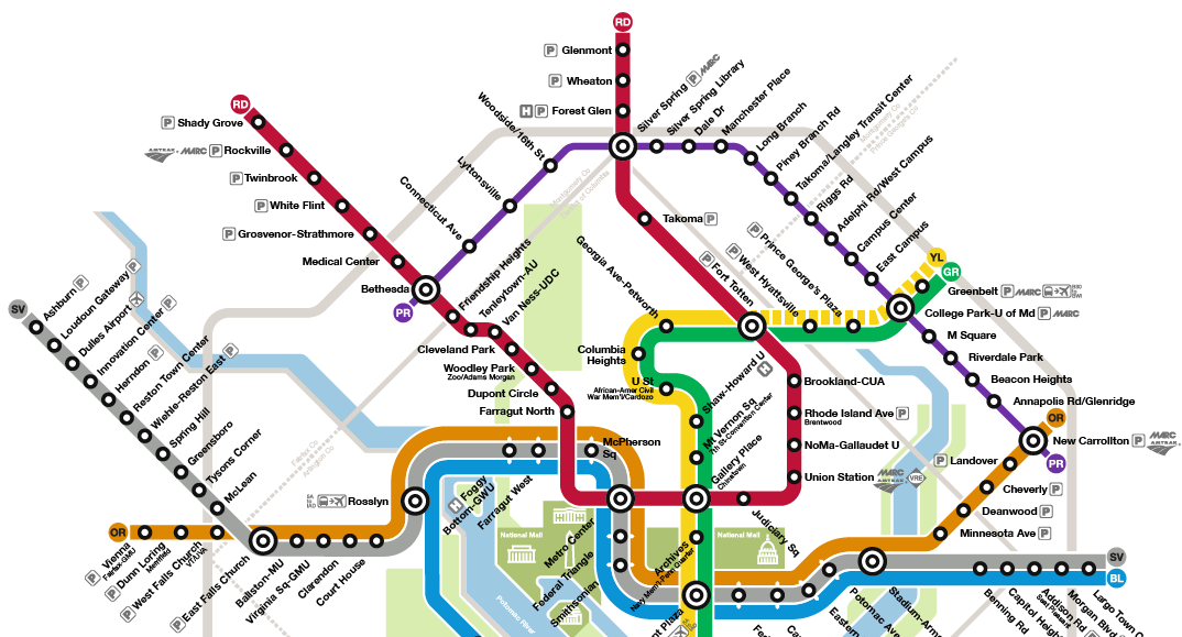Will The Maryland Purple Line Appear On The Washington DC
