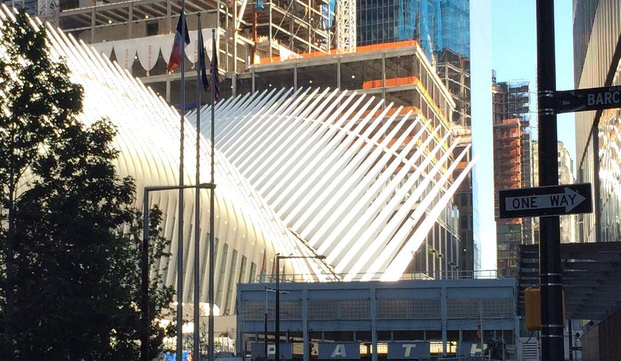 Oculus from Greenwich Street. Photo Credit: Stewart Mader