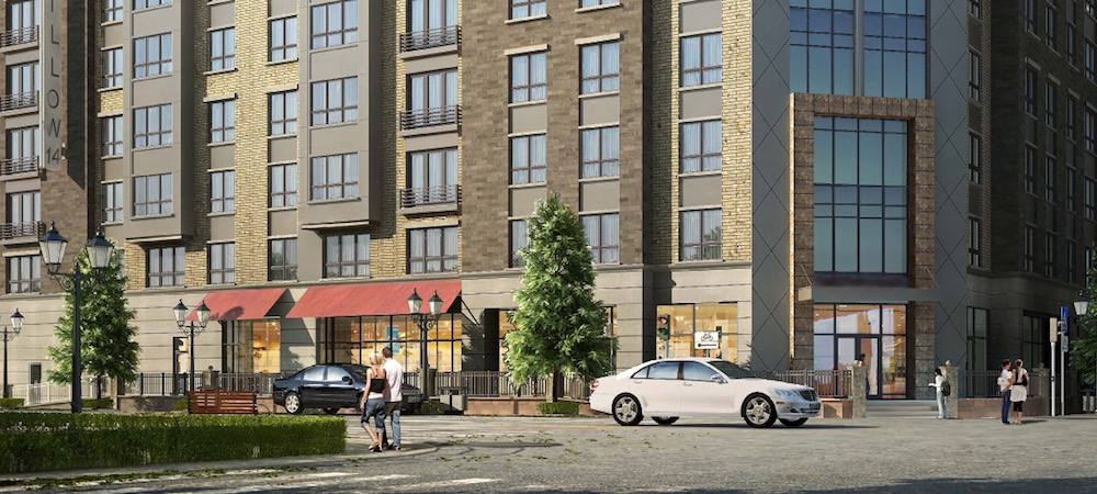 Trader Joe's is planned for the ground floor space in a mixed-use development at the corner of 14th Street and Willow Avenue.