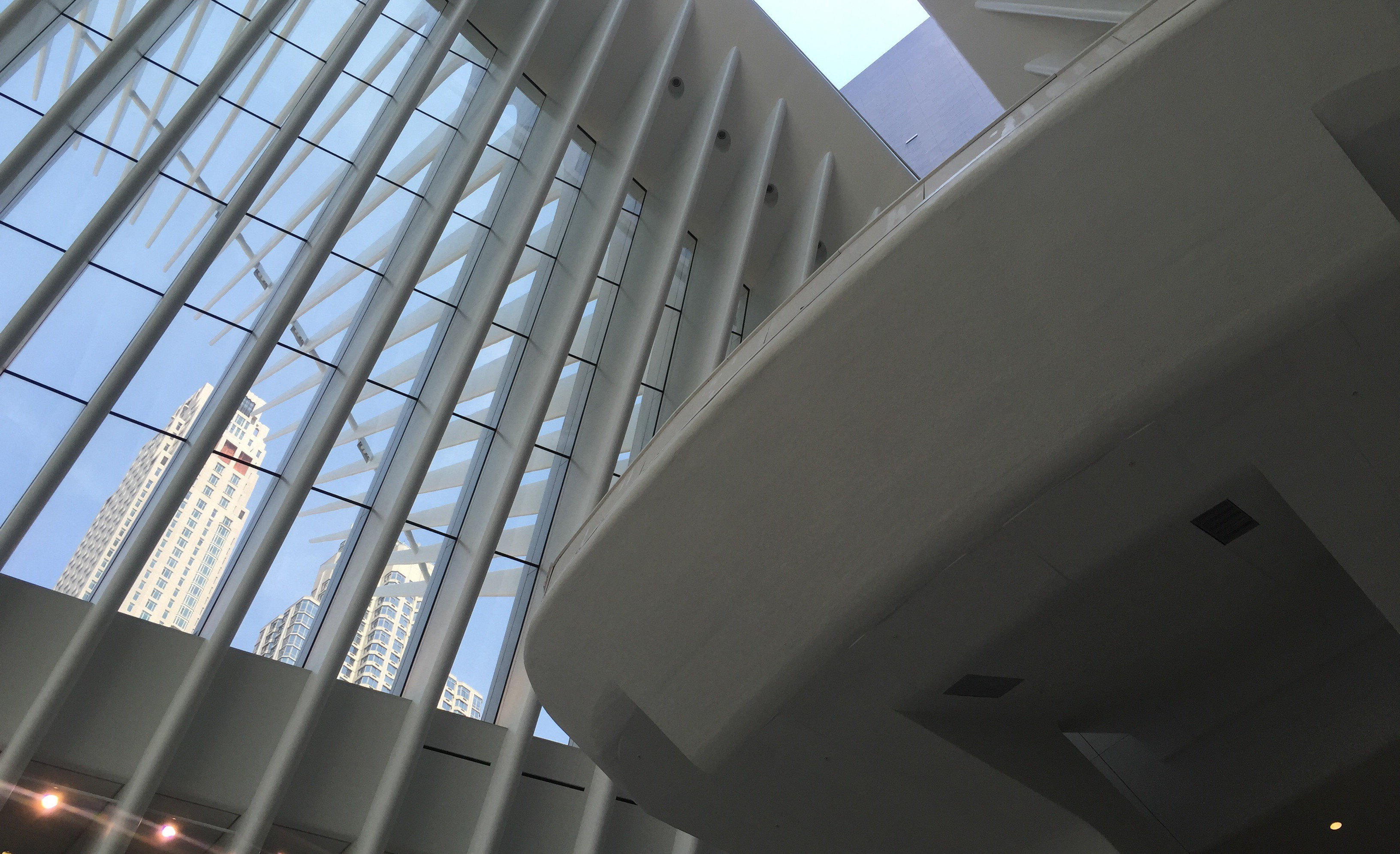 East Balcony, WTC Transportation Hub