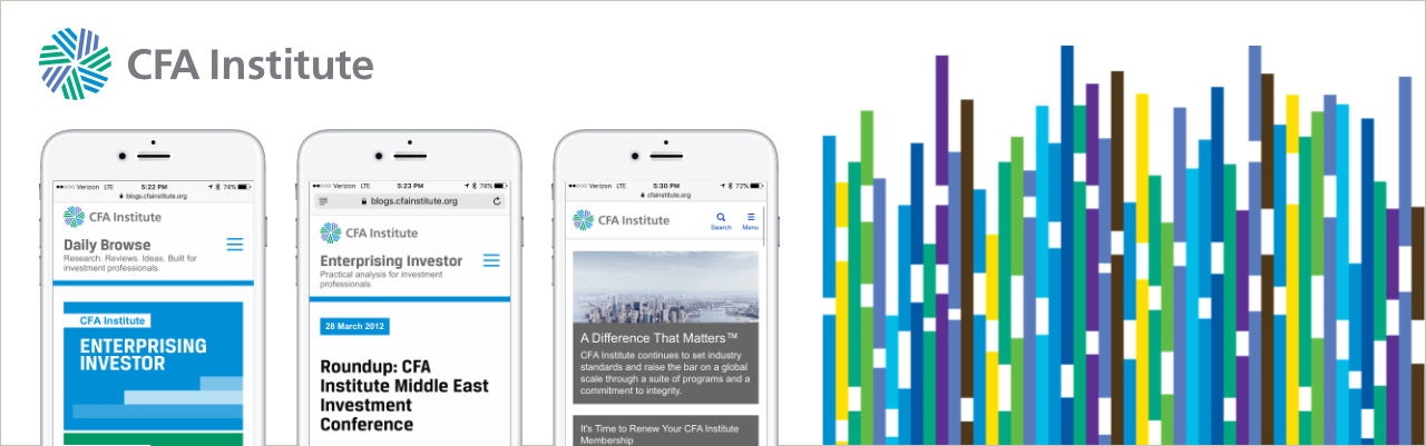CFA Institute: Digital Strategy in Concert with Brand Refresh by Chermayeff & Geismar & Haviv