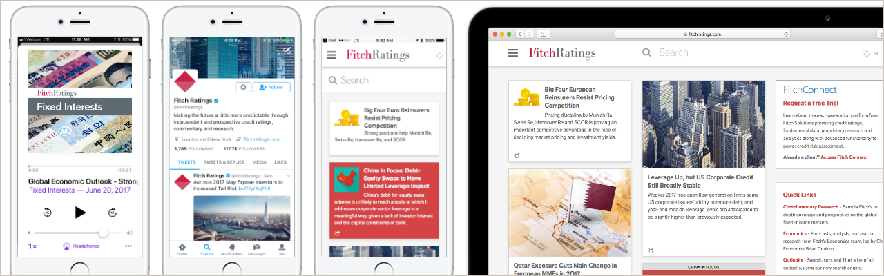 Fitch Ratings: Digital Transformation of a Growing Media Company