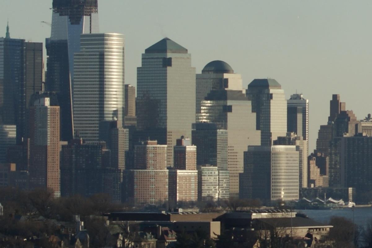 Lower Manhattan from Cliff Street & Mountain Road, Union City, NJ