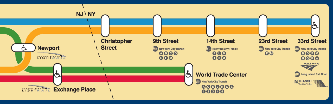 Path Train Map PATH Riders Council: Building a Model for Transit Agency  Path Train Map